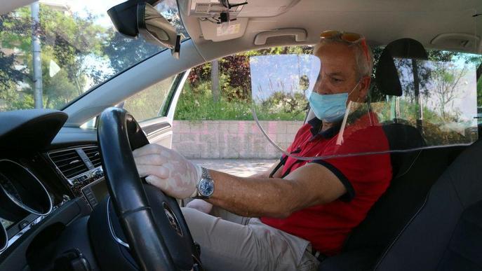 Jordi Llorens Autoescola Jordi de Tarragona vehicles instal·lació pantalles protectores alumne professor