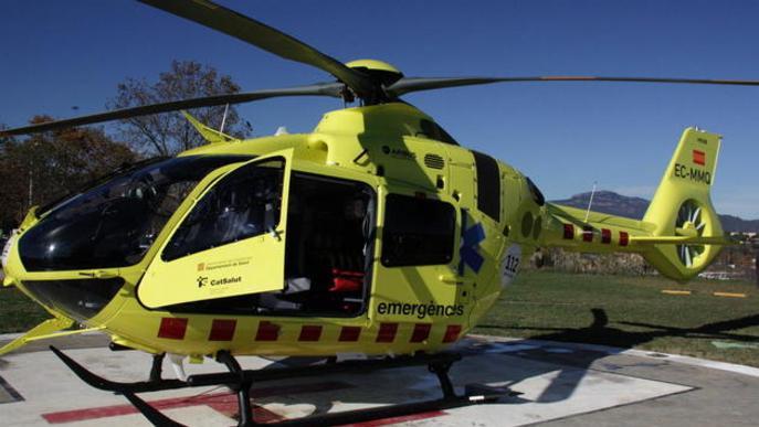 Els nous helicòpters medicalitzats volaran de nit i són més veloços