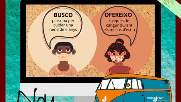 Tauler d'Anuncis Virtual perquè joves de la comarca de la Segarra puguin intercanviar feines