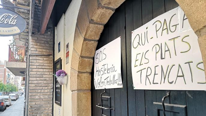 L'hostaleria assegura que no pot aguantar tot l'hivern amb les condicions actuals