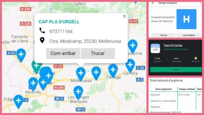 Una app mostra el temps d'espera a Urgències