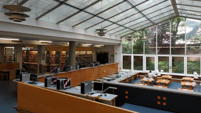 Les biblioteques de la UdL reobren al 50% d'aforament