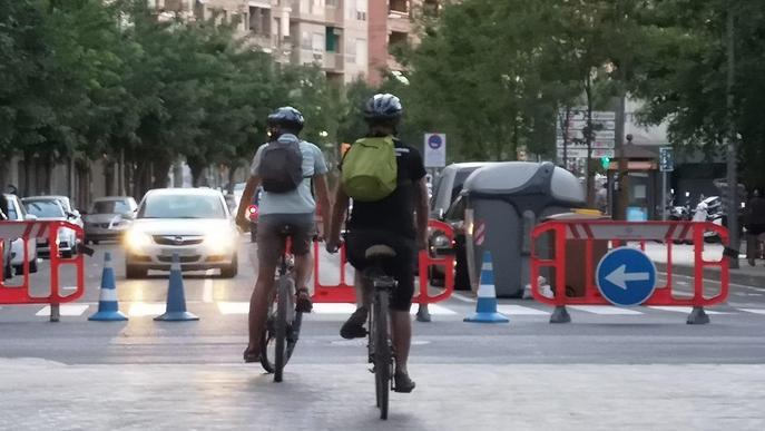 Els talls de carrers dels caps de setmana a Lleida s'iniciaran demà amb motiu de la Diada