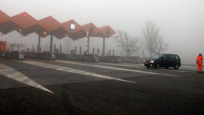 Tallada l'AP-2 entre Lleida i les Borges Blanques perquè hi ha boira intensa