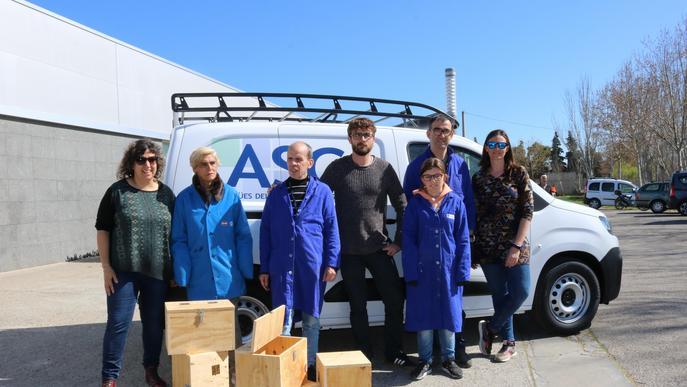 La fusteria del Grup Alba fabrica 260 caixes niu pel Canal Segarra Garrigues