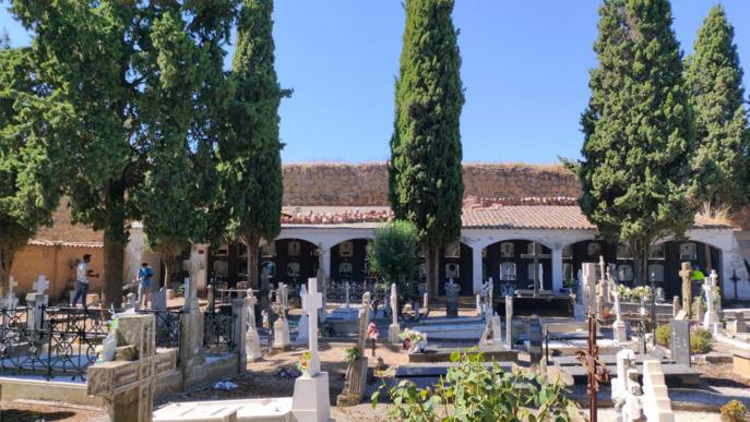 Balaguer inicia les obres de millora a les cobertes del cementiri de Santa Maria