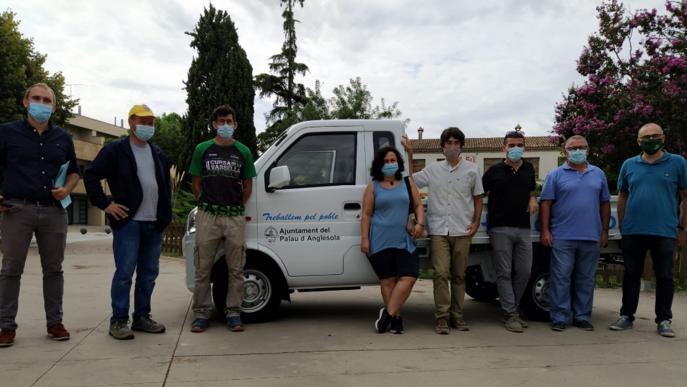 Presentació del primer vehicle elèctric del Pla d'Urgell