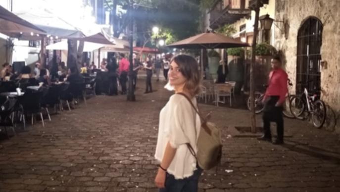 """Alba, palauenca confinada a República Dominicana: """"Aquí es fa el 'toque de queda' de 17h a 6h, i la gent el compleix"""""""