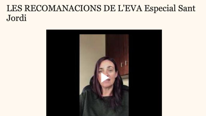 'Recomanancions de l'Eva' també celebra Sant Jordi