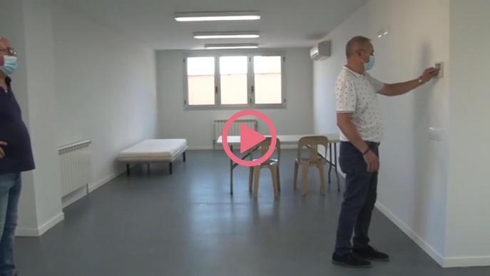 Recursos dels espais que han habilitat a Golmés i a Castellnou de Seana per aïllar persones sospitoses de tenir covid-19