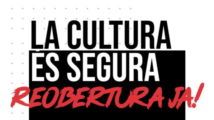 El sector de la cultura convoca una concentració arran de les restriccions
