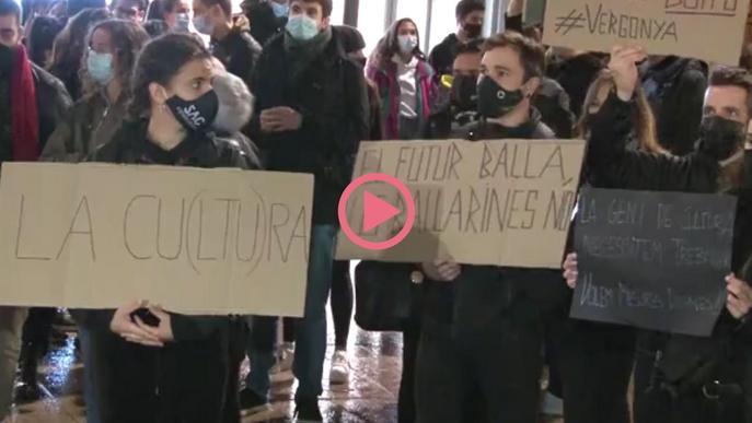 ⏯️ El sector cultural es manifesta i reclama la reobertura dels espais