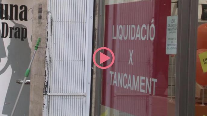 """⏯️ El comerç de Lleida veu la campanya de Nadal amb """"un interrogant molt gran"""""""