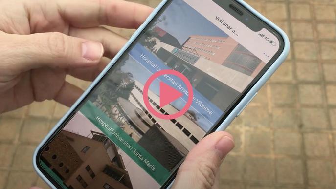 ⏯️ Disponible una nova app amb informació pràctica dels hospitals de Lleida i l'atenció primària