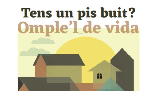 Cervera engega una campanya per donar vida als pisos buits