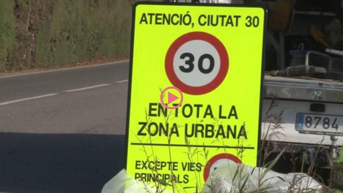 ⏯️ Comença la senyalització per limitar la velocitat a 30 km/h a gairebé tots els carrers de Lleida