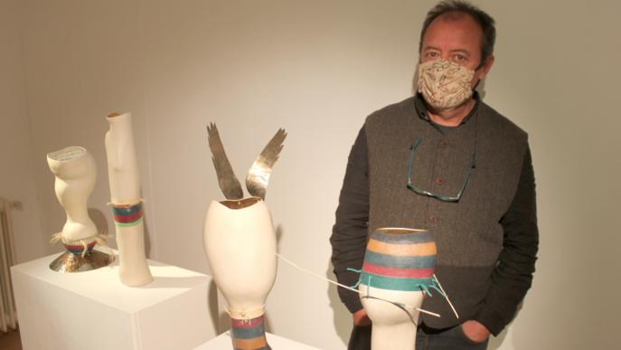 Tàrrega expressa les emocions a través de l'art amb 'Objectes' de l'artista Tàrrega expressa les emocions a través de l'art Jose Davila