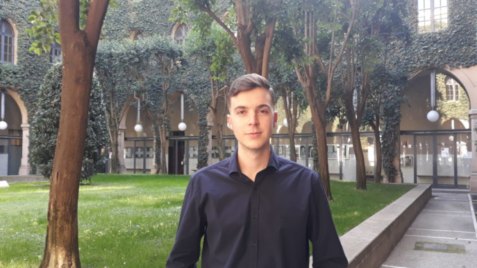 Un alumne de Dret, primer ambaixador UNICAT de la UdL