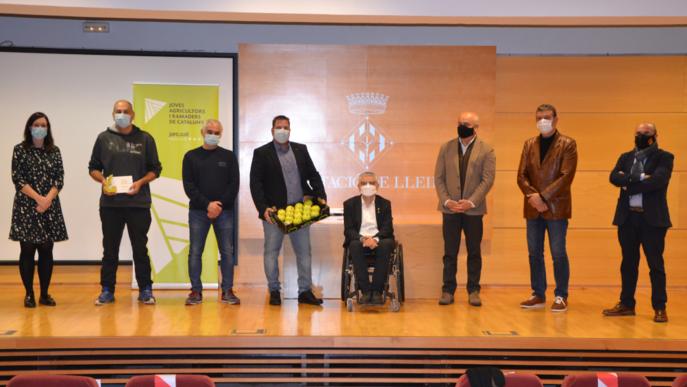 La Cooperativa de Miralcamp guanya el Premi Internacional Millor Poma Golden 2020