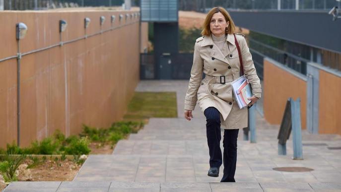 Un jutge de Lleida porta al Suprem les sortides de Forcadell de la presó
