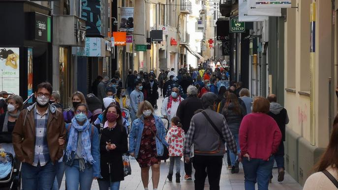 Detingut per robar en sis botigues de l'Eix Comercial de Lleida en menys de 24 hores