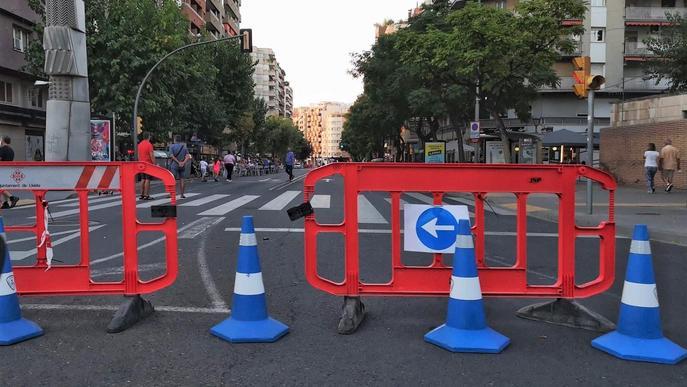Més carrers per a vianants a Lleida per celebrar la Setmana Europea de la Mobilitat