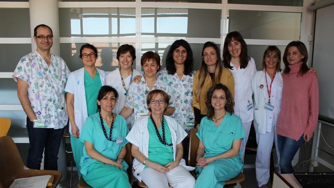 L'Arnau és l'hospital català amb mes persones formades en lactància materna