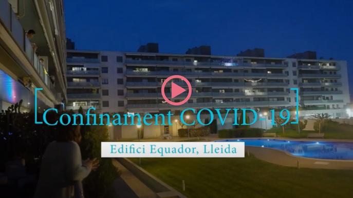 ⏯️ #VÍDEO | Concert de confinament a una comunitat de veïns de Lleida