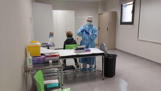 Torrefarrera habilita un espai mèdic per fer test ràpids de Covid-19