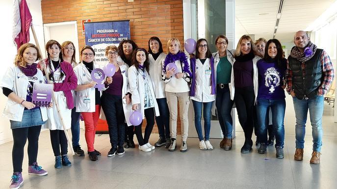Els Equips de l'Atenció Primària Lleida celebren el Dia Internacional de les Dones