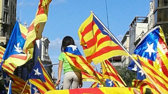 La Diada amb més participació lleidatana