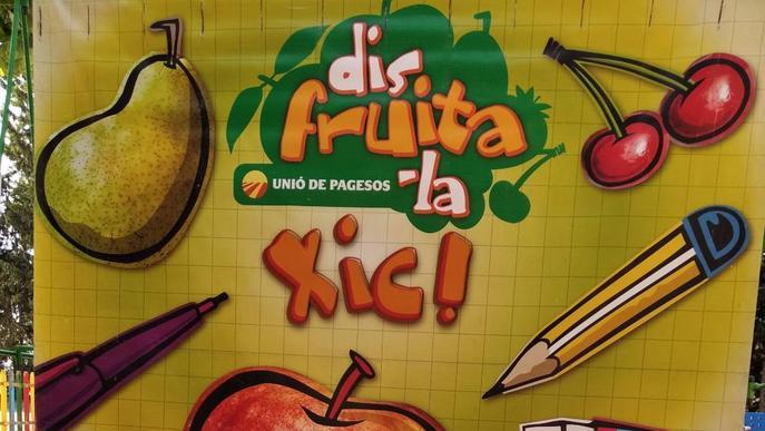"""Foment del consum de fruita entre els infants amb la campanya """"Disfruita-la a l'estiu"""""""