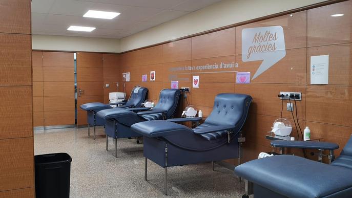 ⏯️ El Banc de Sang preveu una baixada de donacions menor que altres estius tot i la covid-19
