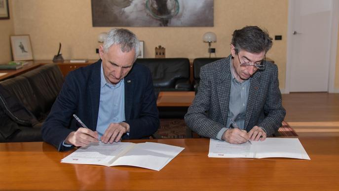 La UdL i l'IRTA s'alien per impulsar la recerca agroalimentària a Lleida