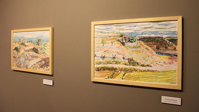 El Museu Tàrrega Urgell estrena una exposició d'obres inèdites del pintor Lluís Trepa