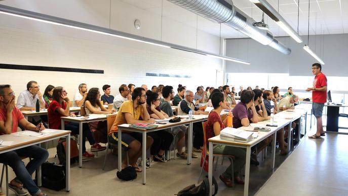 Uns 2.000 nous alumnes inicien curs a la UdL