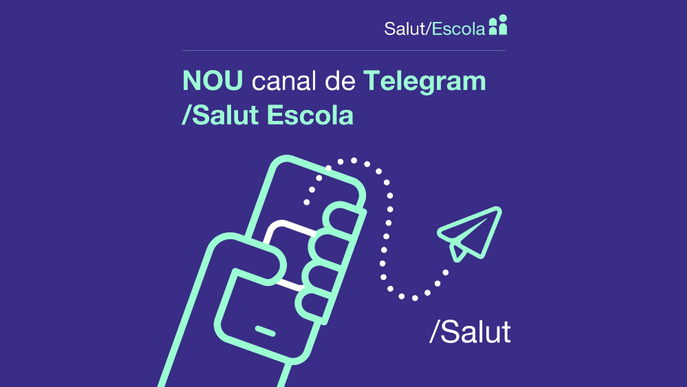 ⏯️ Educació habilita canals de Telegram per informar famílies i professorat d'incidències a l'escola
