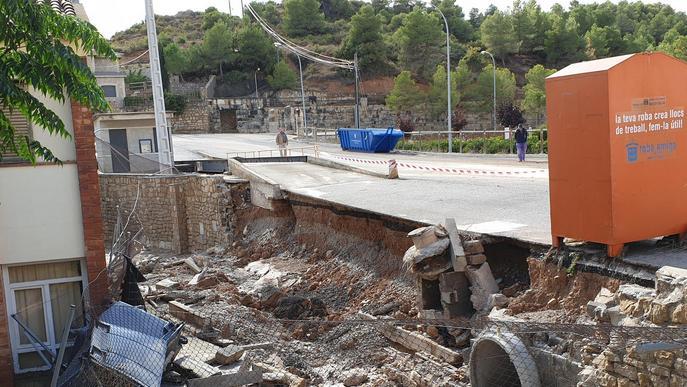 Diversos municipis de les Garrigues volen demanar la declaració de zona catastròfica després dels aiguats