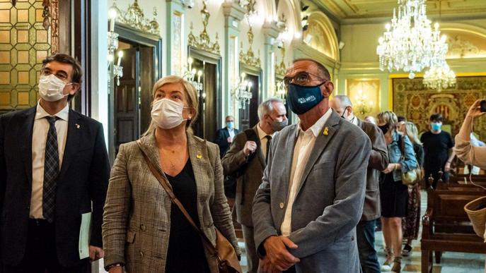 ⏯️ La consellera Ponsa s'estrena a Lleida