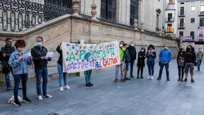 Nova protesta a Lleida contra el canvi climàtic