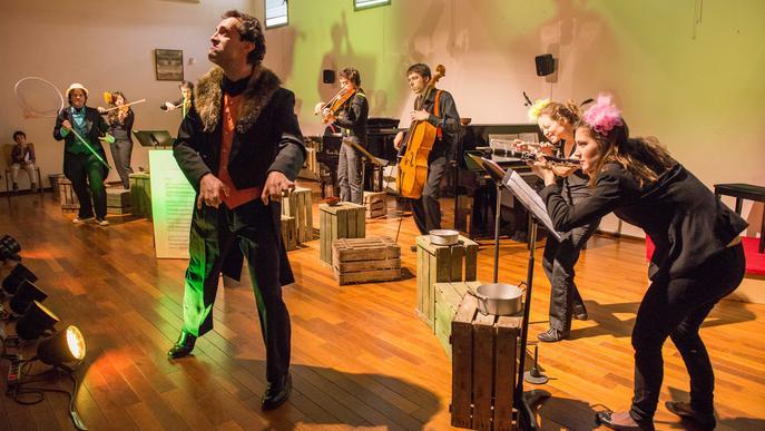 LleidArt Ensemble captiva petits i grans