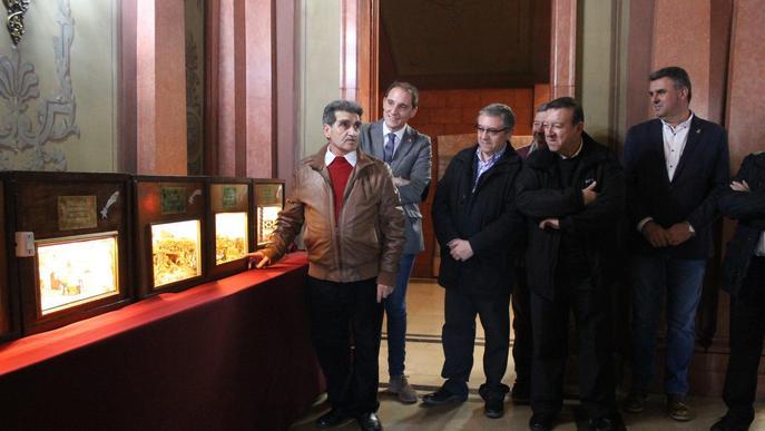 L'art nadalenc torna a omplir la Subdelegació del Govern a Lleida