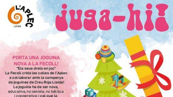 El 'Juga-hi!' de la Fecoll recollirà joguines noves per Creu Roja
