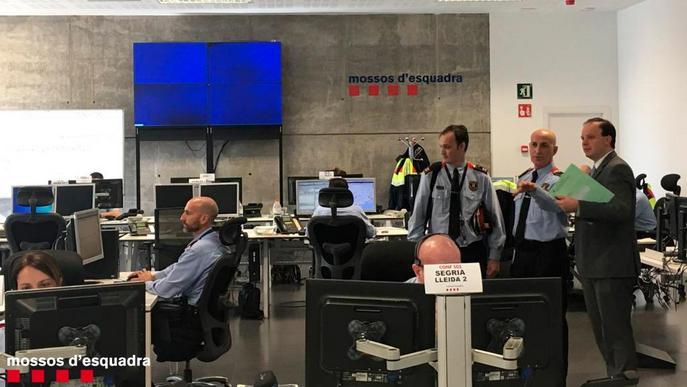 Els Mossos comencen a gestionar els avisos de Ponent i Pirineu Occidental des del 112 de Reus