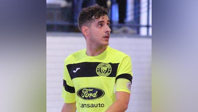 Xexu, capità del Futsal Lleida, convocat amb la Selecció Catalana per l'amistós contra Bahrein
