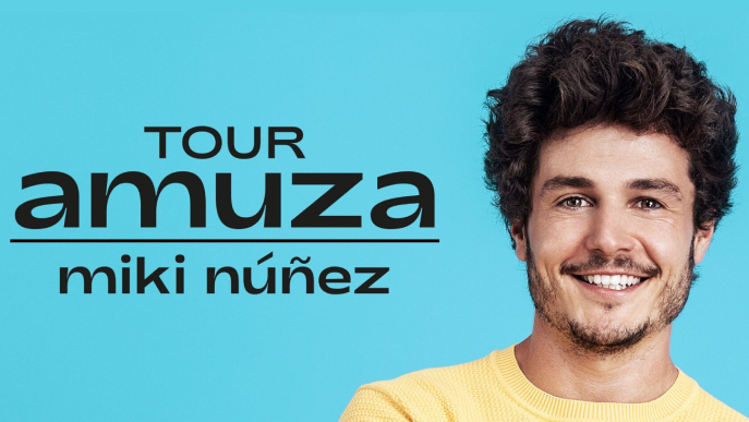La primera gira de Miki Núñez farà parada a Lleida