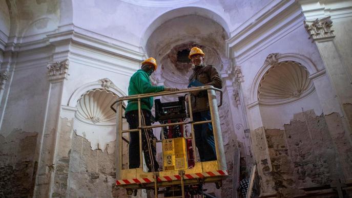 Cervera restaura les capelles barroques del convent de Sant Domènec