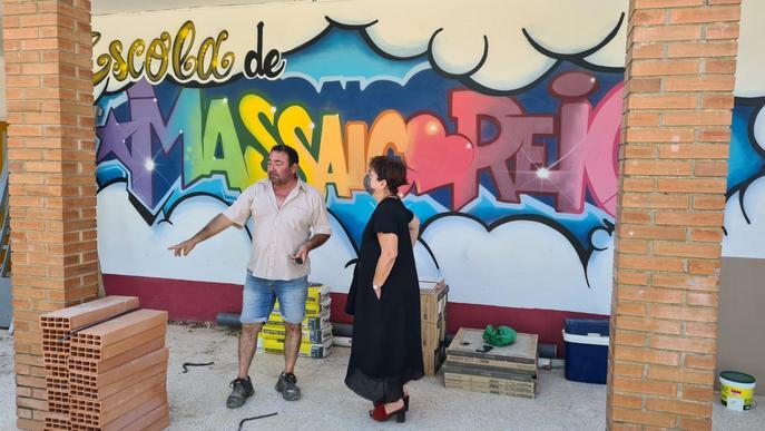 En marxa les obres de l'escola de Massalcoreig