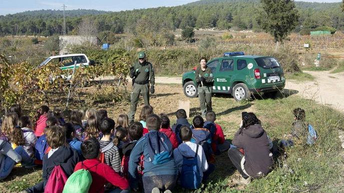 Els Agents Rurals han impartit aquest curs 190 activitats a escolars lleidatans