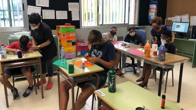 Les Escoles Especials comencen el curs amb normalitat amb 77 alumnes